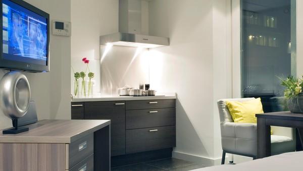 Studio met kitchenette van der valk hotel gilze tilburg